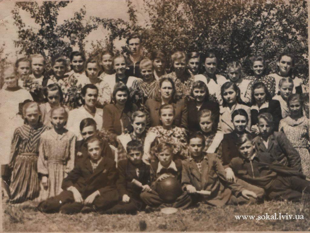 c.Двірці, Випускники 1953 року