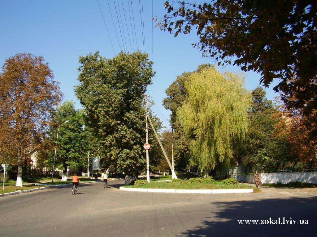 м.Сокаль, Роздоріжжя вулиць Українська і Шептицького