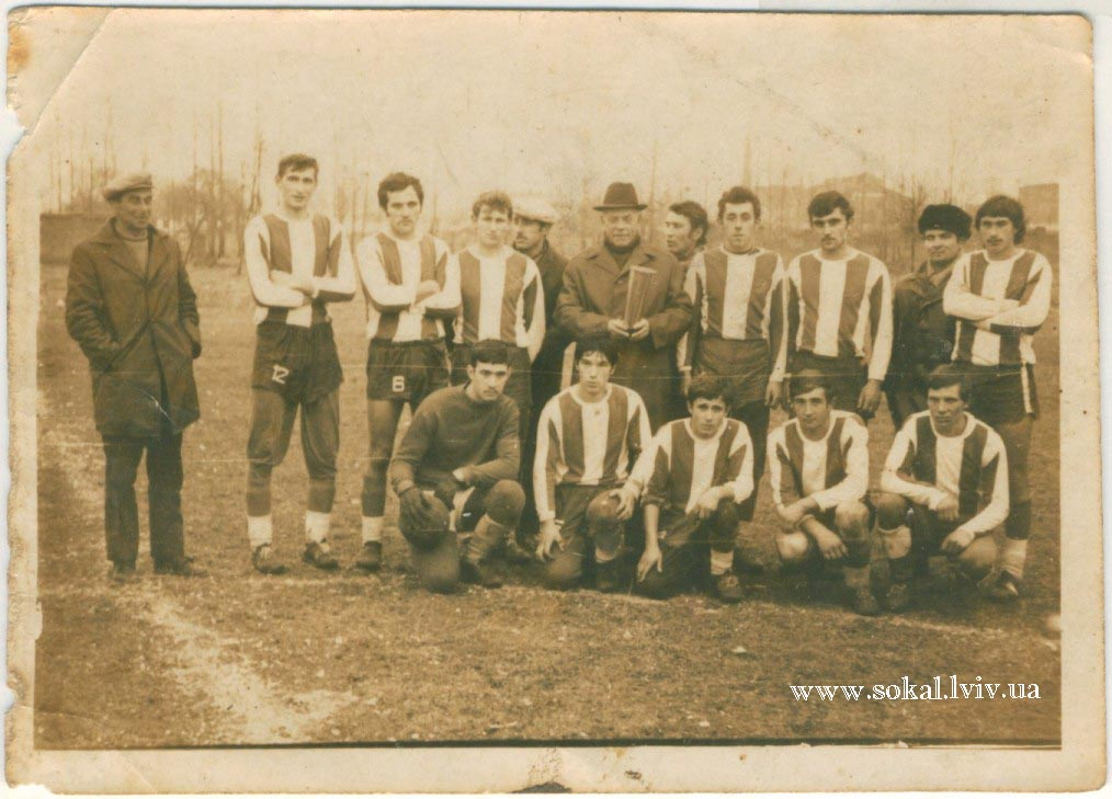 c.Горбків, Футбольна команда