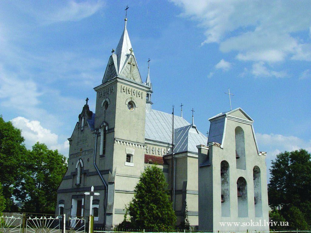 м.Белз, Костельний комплекс 1933-1938 рр. архітектор Вітольд Равський розбудував костельний комплекс з дзвіницею, каплицею та цегляною огорожею в стилі модерну