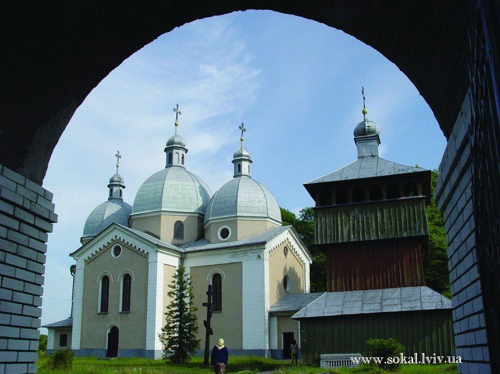 c.Карів, Церква вмч. Параскеви і дзвіницязбудована 1887-1896 рр.