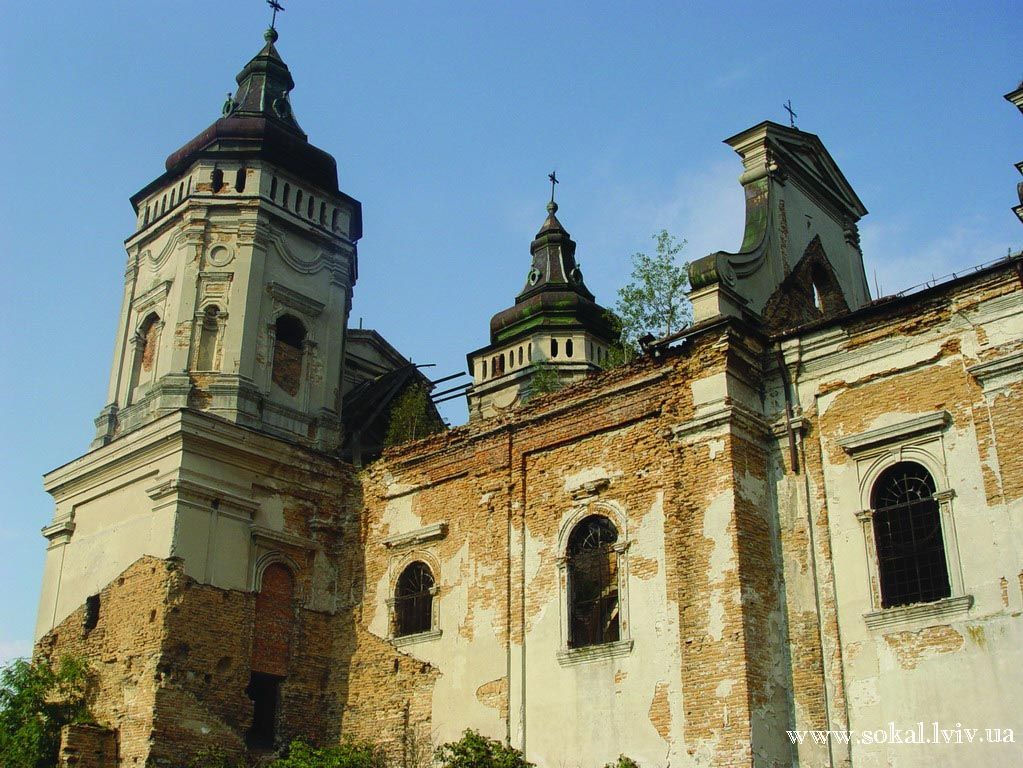 c.Варяж, Костел св. Маркаспоруджений 1688-1693