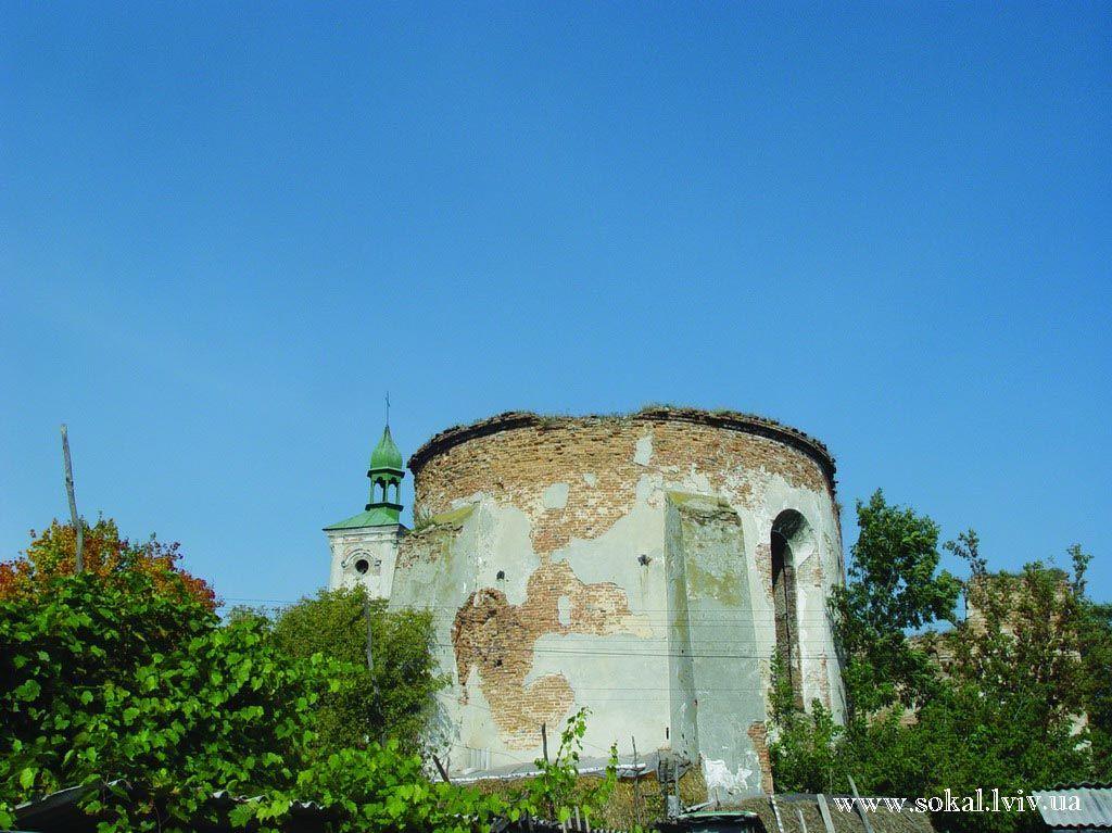 м.Белз, Мури монастиря домініканів