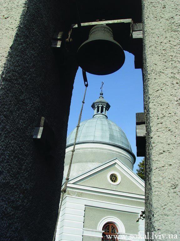 c.Ульвівок, Церква Успення Пресв. Богородиці