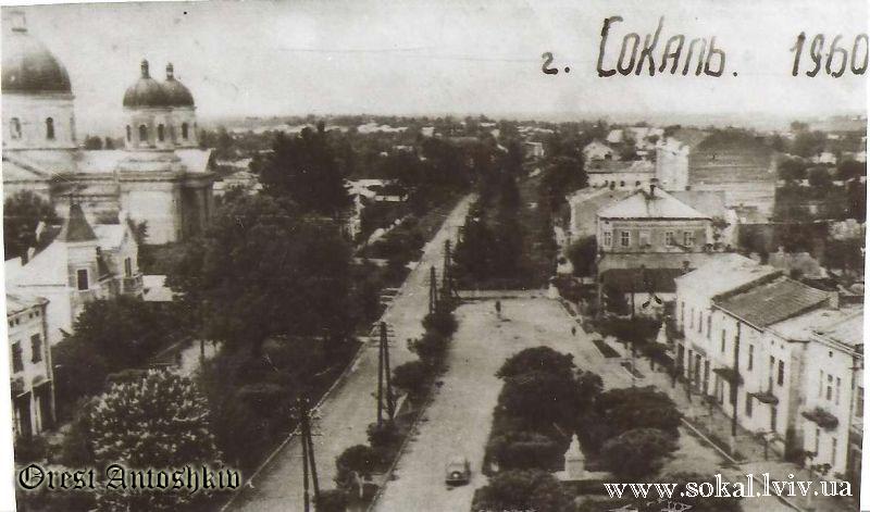 м.Сокаль, Центр Сокаля