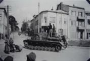 Німецькі війська в Сокаліповорот на вул. Тартаківська