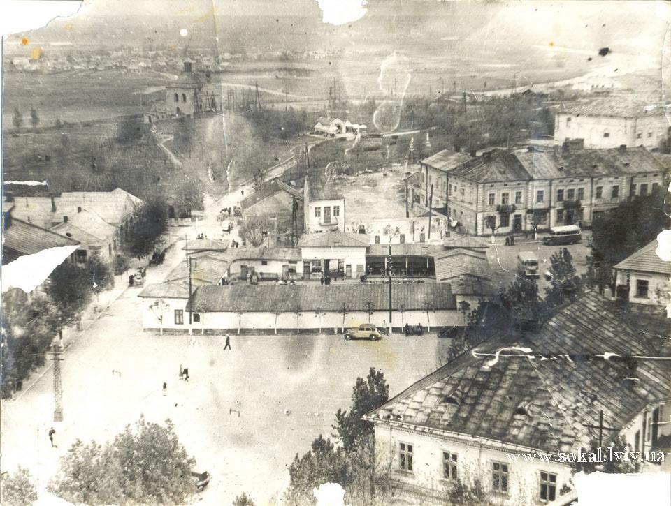 м.Сокаль, площа в Сокалі