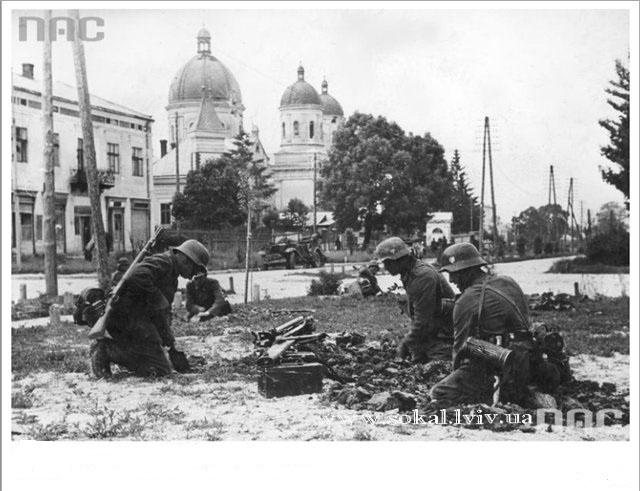 Сокаль підчас ІІ Світової війни