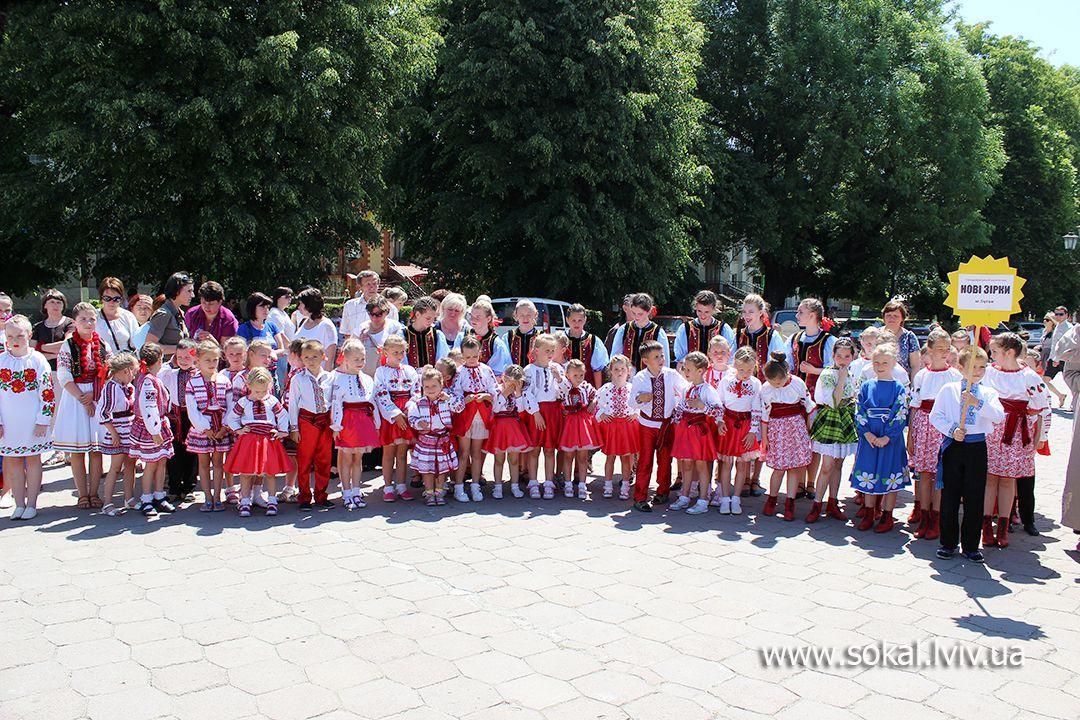 м.Сокаль, регіональний Фестиваль народної хореографії «Свитазівські притупи»Нові зірки (Буськький р-н)