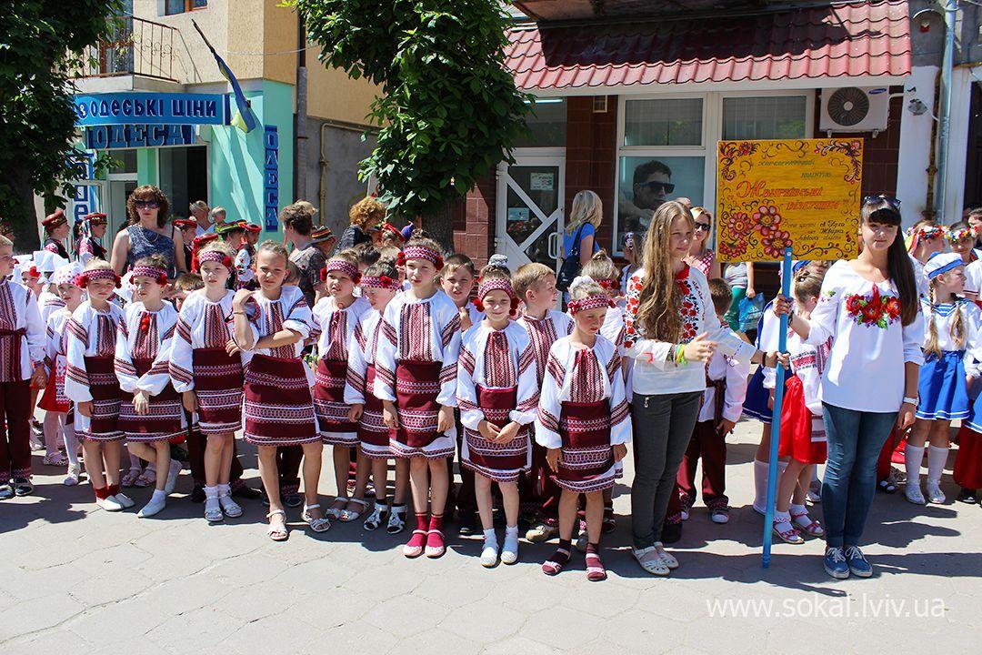 м.Сокаль, регіональний Фестиваль народної хореографії «Свитазівські притупи»Жвирківські візерунки