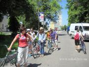 Велопробіг с.Острів Дитячий велопробіг від церкви св.ап.Петра і Павла до с.Острів