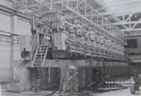 Монтаж прядильного агрегату 1969 р.