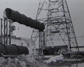 Будівля газоочистки і основні вентруби 1968 р.