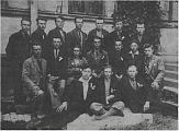 Група активістів руху національного опору в Сокальщині.
