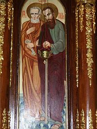 Покровителі парафії Св. ап. Петро і Павло