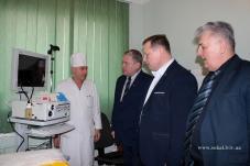 У ЦРЛ після капітального ремонту урочисто освячено і відкрито оновлену частину  хірургічного відділення.