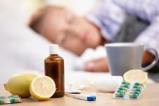 В області різко зросла захворюваність на грип та ГРВІ