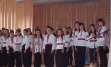 освітаТак хоровий колектив виборював перемогу у районному фестивалі «Сурми звитяги».