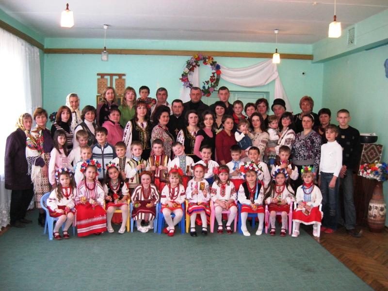 м.Сокаль, Родинне свято у дошкільному навчальному закладі №1 м. Сокаль.родинне свято