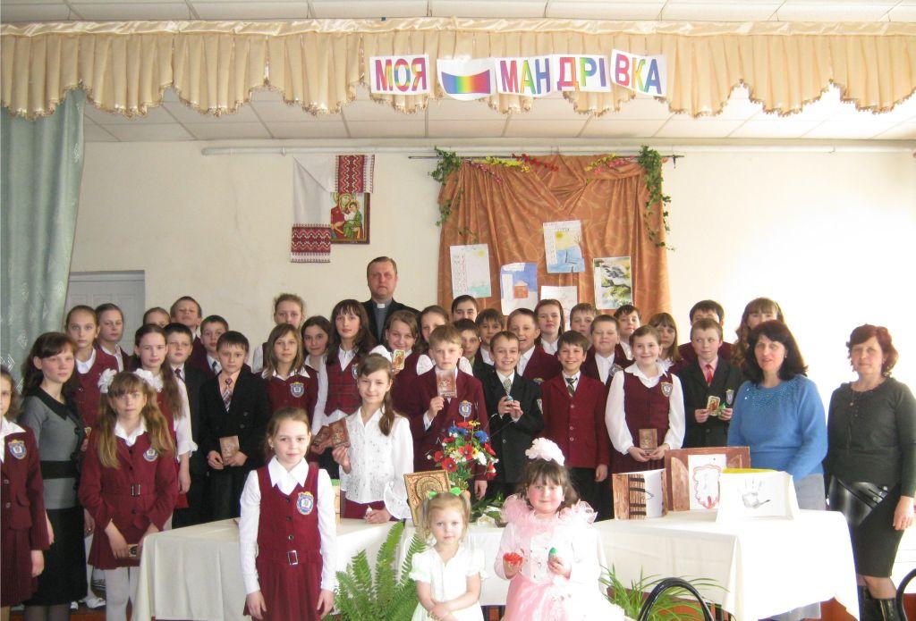 м.Сокаль,  учні та М.В. Штикало вирушили у скорботну Христову  мандрівкуОт і спільне фото усіх учасників