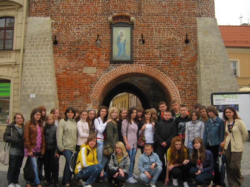 м.Сокаль, в квітні-травні цього року наші учні в рамках проекту українсько-польського обміну молоді перебували 10 днів у Польщі(м. Радечніца)Разом дуже весело і цікаво
