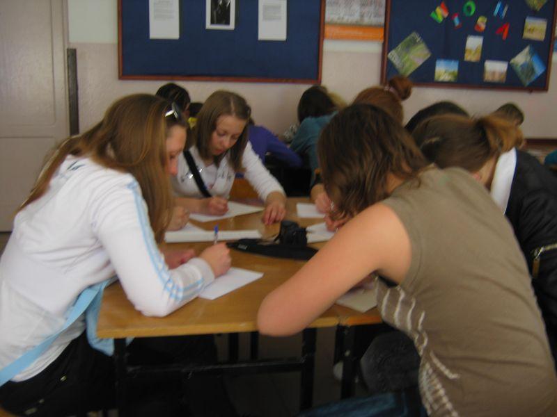м.Сокаль, в квітні-травні цього року наші учні в рамках проекту українсько-польського обміну молоді перебували 10 днів у Польщі(м. Радечніца)Разом ми вивчали мову..