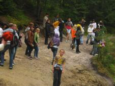 в квітні-травні цього року наші учні в рамках проекту українсько-польського обміну молоді перебували 10 днів у Польщі(м. Радечніца)Побували і в замках, і пішки мандрували чимало ...