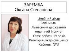 Заремба О.С.