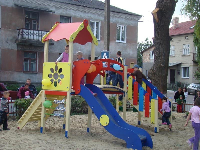 м.Сокаль, «Дитячий майданчик – для родинного дозвілля».