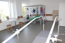 В Сокальській ЦРЛ оновили операційну та осучаснили палату для реабілітації післяінсультних хворих