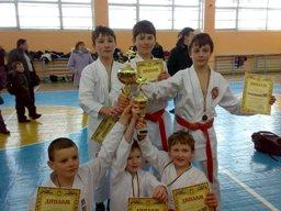 м.Червоноград, дитячий турнір з карате-до «Святий Миколай-2009»
